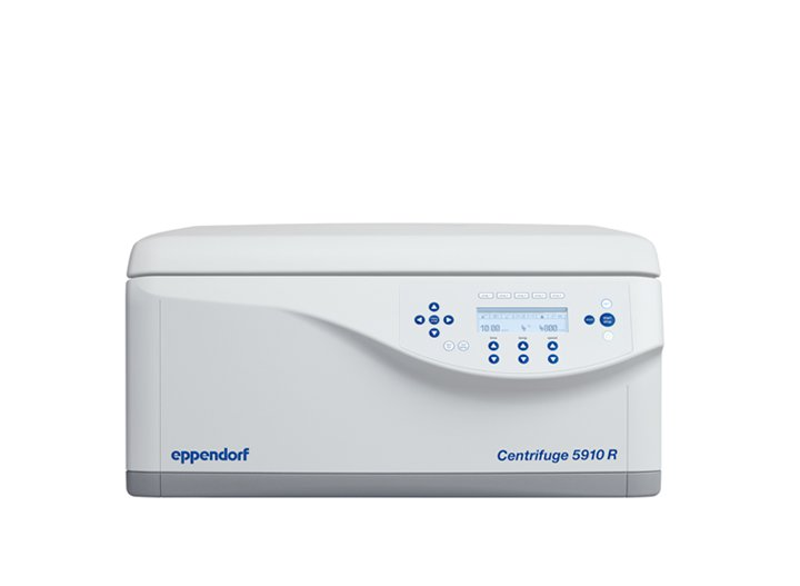Centrifuge 5910 R The high performance centrifuge combines high capacity and performance in a compact and ergonomic product design.