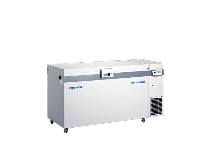 Cryocube FC 660 Chest ULT Freezer for high storage capacity with energy saving. The Cryocube FC660 requires 25% less energy than the previous model.