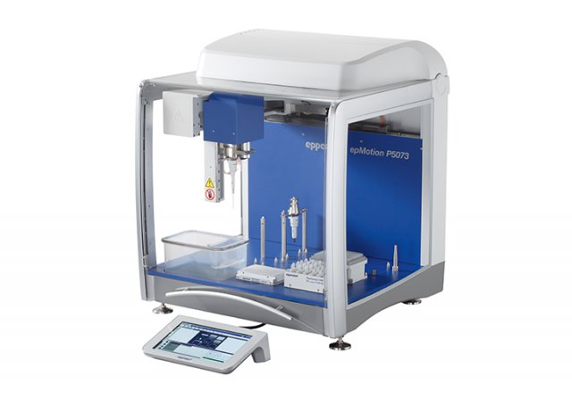 Automated pipetting system for cell culture applications with touch-control panel.||