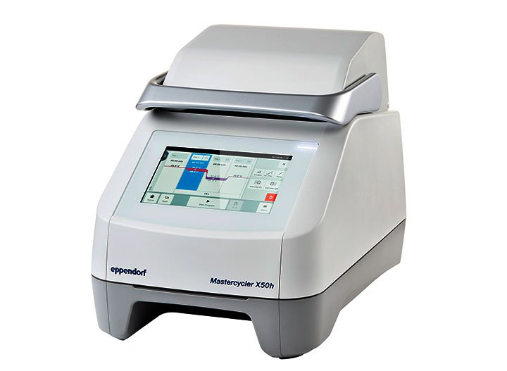 Mastercycler X50  Cycler for PCR applications, e.g. the analysis of food.