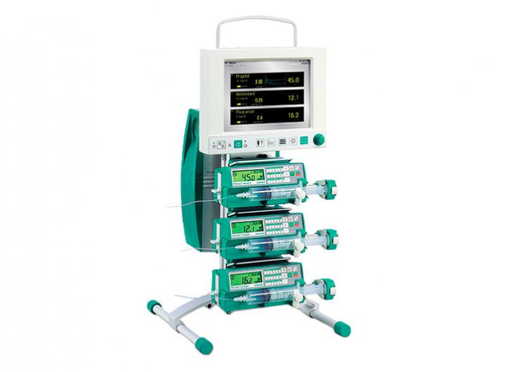 FM Anaesthesia Customised and expandable anaesthesia workstation including the components FM-Controller, FM-Computer and at least 2-3 syringe pumps of the B. Braun FM-Assortment.